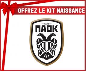 kit naissance bébé personnalisé PAOK Salonique