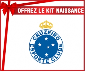 kit naissance bébé personnalisé Cruzeiro Esporte Clube