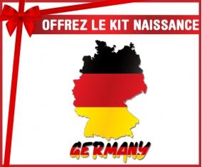 kit naissance bébé personnalisé Germany maps