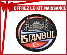 kit naissance bébé personnalisé Ville d'Istamboul