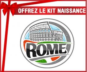 kit naissance bébé personnalisé Ville de Rome