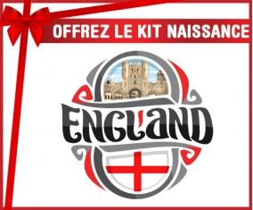 kit naissance bébé personnalisé Flag England