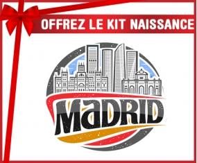 kit naissance bébé personnalisé Ville de Madrid