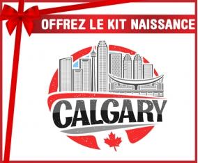 kit naissance bébé personnalisé Ville de Calgary