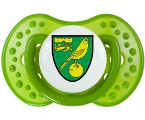Norwich City Football Club Tétine LOVI Dynamic Vert classique