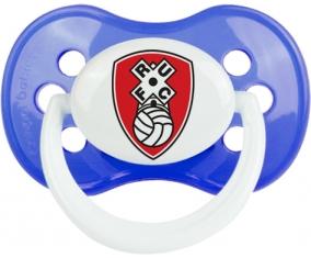 Rotherham United Football Club Tétine Anatomique Bleu classique