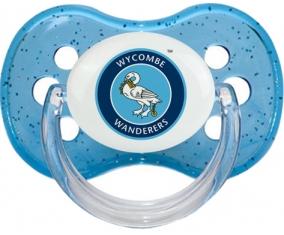 Wycombe Wanderers Football Club Tétine Cerise Bleu à paillette