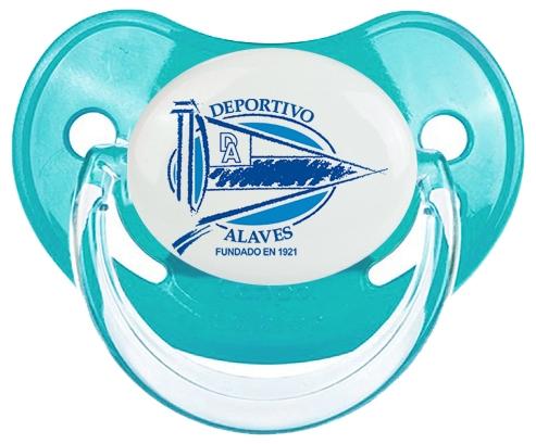 Deportivo Alavés Tétine Physiologique Bleue classique