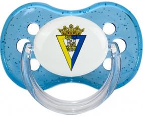 Cádiz Club de Fútbol Tétine Cerise Bleu à paillette