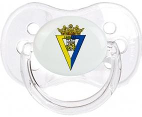 Cádiz Club de Fútbol Tétine Cerise Transparent classique
