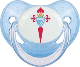 Celta de Vigo Tétine Physiologique Bleue à paillette