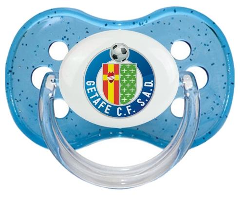 Getafe Club de Fútbol Tétine Cerise Bleu à paillette