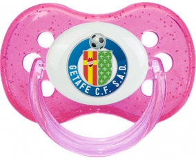 Getafe Club de Fútbol Tétine Cerise Rose à paillette