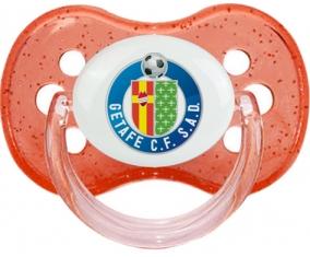 Getafe Club de Fútbol Tétine Cerise Rouge à paillette