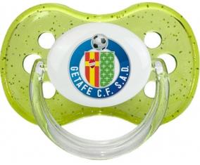 Getafe Club de Fútbol Tétine Cerise Vert à paillette