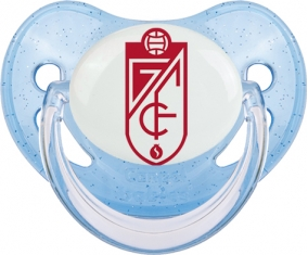 Grenade Club de Fútbol Tétine Physiologique Bleue à paillette