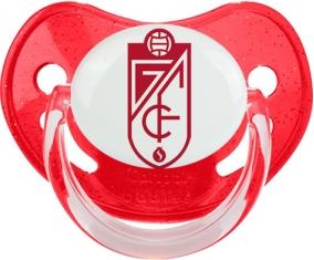 Grenade Club de Fútbol Tétine Physiologique Rouge à paillette