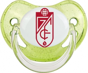Grenade Club de Fútbol Tétine Physiologique Vert à paillette