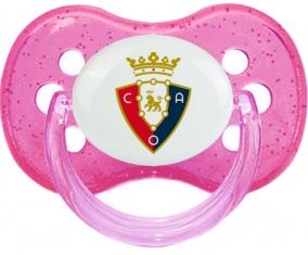 Club Atlético Osasuna Tétine Cerise Rose à paillette