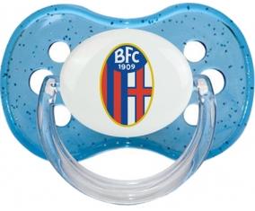Bologna Football Club 1909 Tétine Cerise Bleu à paillette
