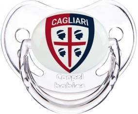 Cagliari Calcio Tétine Physiologique Transparent classique