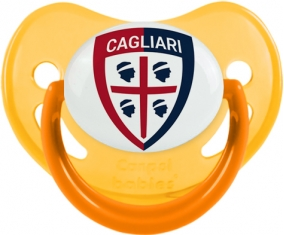 Cagliari Calcio Tétine Physiologique Jaune phosphorescente