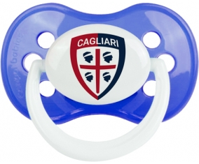 Cagliari Calcio : Sucette Anatomique personnalisée