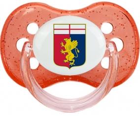 Genoa Cricket and Football Club Tétine Cerise Rouge à paillette