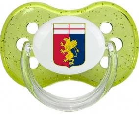 Genoa Cricket and Football Club Tétine Cerise Vert à paillette