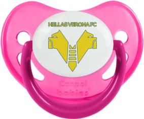 Hellas Verona Football Club Tétine Physiologique Rose phosphorescente
