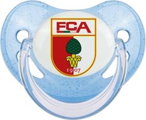 Fußball-Club Augsburg Tétine Physiologique Bleue à paillette