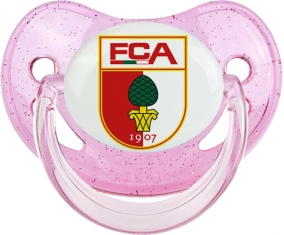 Fußball-Club Augsburg Tétine Physiologique Rose à paillette