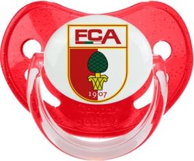 Fußball-Club Augsburg Tétine Physiologique Rouge à paillette