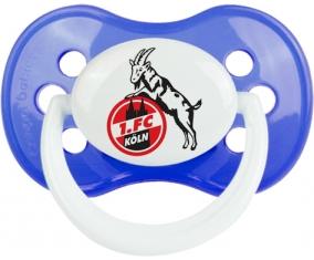 Fußball-Club Köln Tétine Anatomique Bleu classique