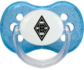 Borussia Mönchengladbach Tétine Cerise Bleu à paillette