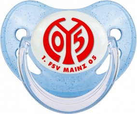 FSV Mayence 05 Tétine Physiologique Bleue à paillette