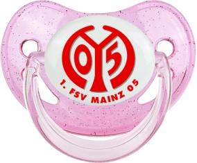 FSV Mayence 05 Tétine Physiologique Rose à paillette