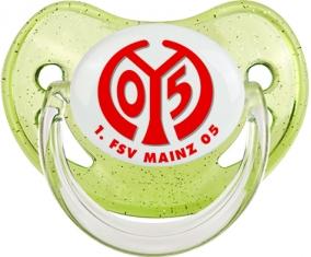 FSV Mayence 05 Tétine Physiologique Vert à paillette