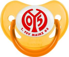 FSV Mayence 05 Tétine Physiologique Jaune phosphorescente