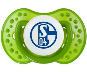 Fußballclub Gelsenkirchen-Schalke 04 : Sucette LOVI Dynamic personnalisée