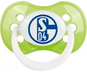 Fußballclub Gelsenkirchen-Schalke 04 Tétine Anatomique Vert classique