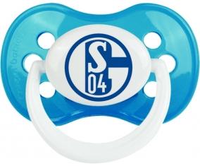 Fußballclub Gelsenkirchen-Schalke 04 Tétine Anatomique Cyan classique