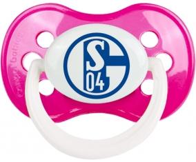 Fußballclub Gelsenkirchen-Schalke 04 Tétine Anatomique Rose foncé classique