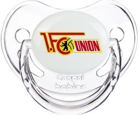 Fußballclub Union Berlin Tétine Physiologique Transparent classique