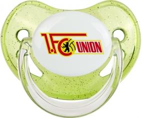 Fußballclub Union Berlin Tétine Physiologique Vert à paillette