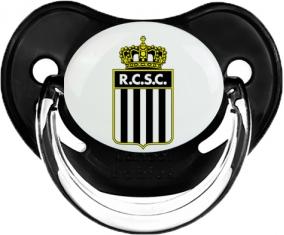 Royal Charleroi Sporting Club Tétine Physiologique Noir classique