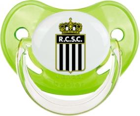 Royal Charleroi Sporting Club Tétine Physiologique Vert classique