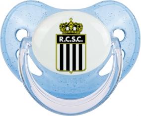 Royal Charleroi Sporting Club Tétine Physiologique Bleue à paillette