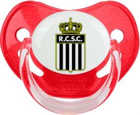 Royal Charleroi Sporting Club Tétine Physiologique Rouge à paillette
