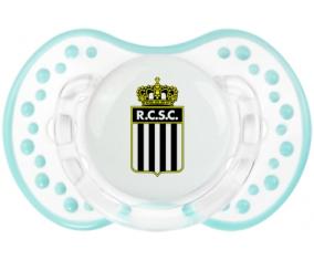 Royal Charleroi Sporting Club Sucete LOVI Dynamic Retro-blanc-lagon classique